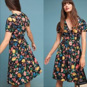 MaEve By Anthropology Floral Dress